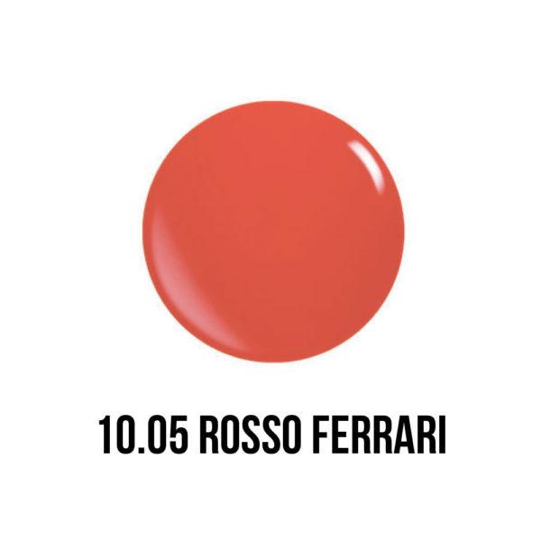 smaltogel semipermanente shellac color rosso ferrari