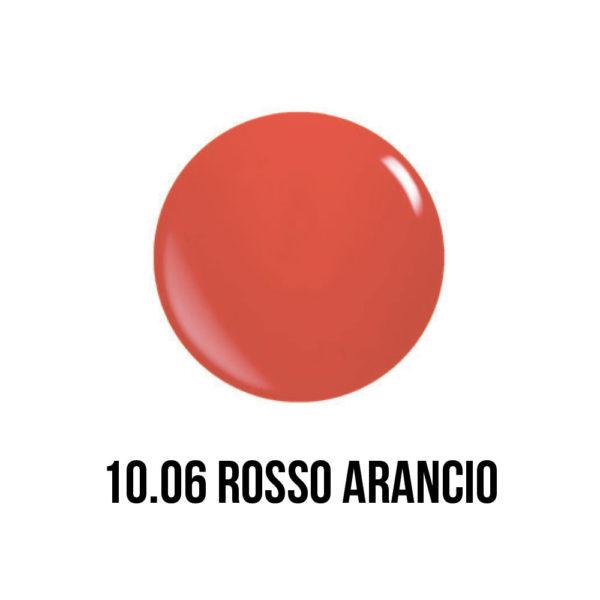smaltogel semipermanente shellac color rosso arancio