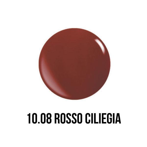 smalto gel semipermanente rosso ciliegia shellac