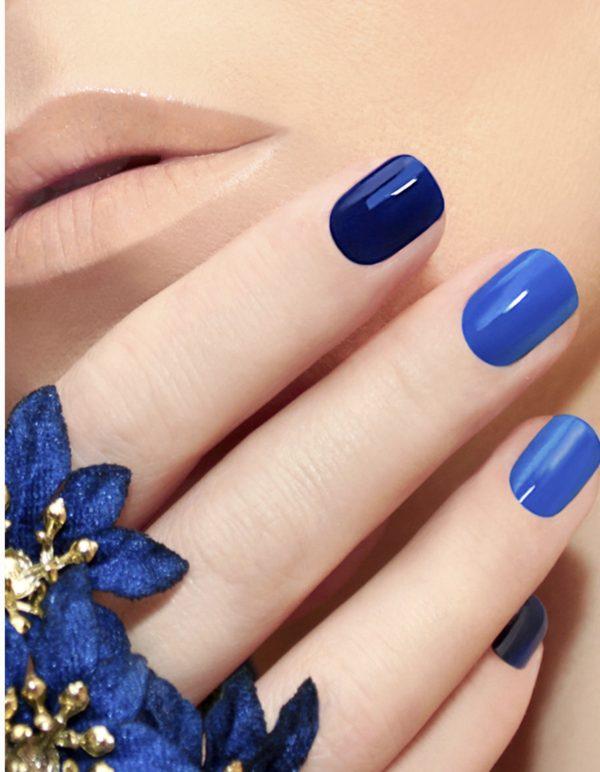 smalto gel semipermanente shellac Blu Cobalto