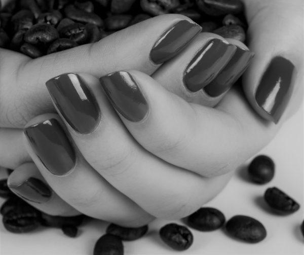 smalto gel semipermanente shellac Polvere di Caffe'