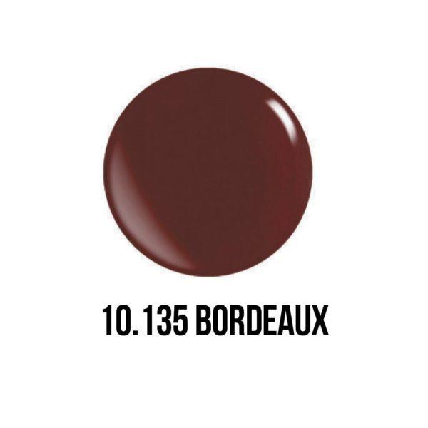smalto semipermanente shellac gel Rosso Bordeaux