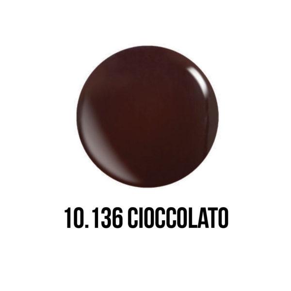 smalto gel semipermanente shellac Cioccolato