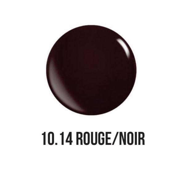 smalto semipermanente shellac gel Rouge/Noir