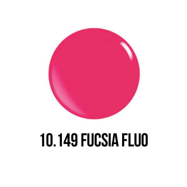 smalto gel semipermanente shellac fucsia fluo