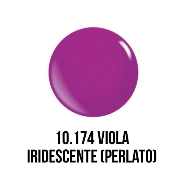 smalto semipermanente shellac gel viola iridescente