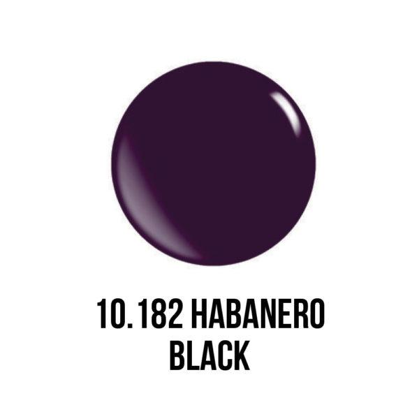 smalto gel semipermanente shellac Black Habanero