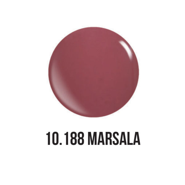 smalto gel semipermanente shellac Marsala