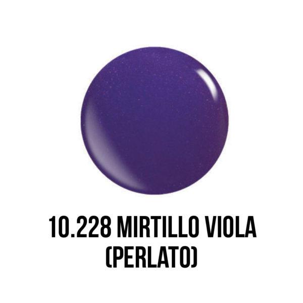 smalto semipermanente shellac gel Mirtillo Viola