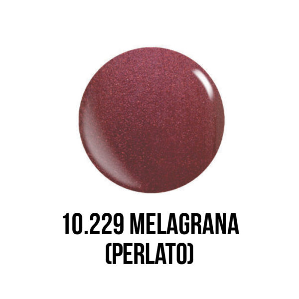 smalto gel semipermanente shellac Melograna
