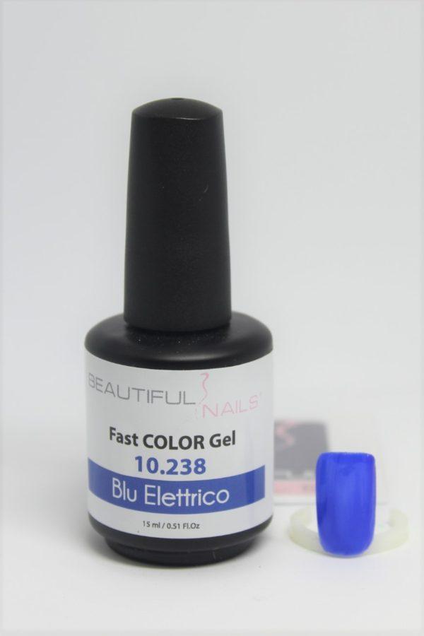 smalto semipermanente shellac gel Blu Elettrico