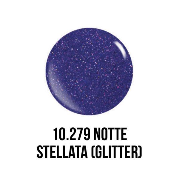 smalto gel semipermanente shellac Notte Stellata Glitter