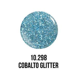 smalto gel semipermanente shellac Cobalto Glitter