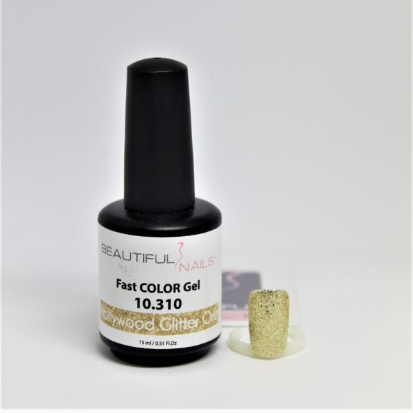 smalto gel semipermanente shellac Hollywood Oro Glitter