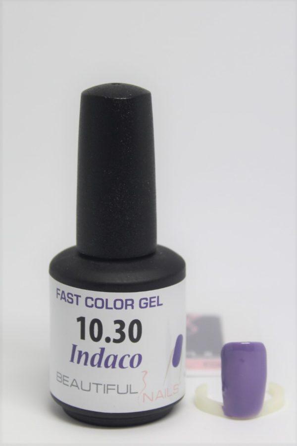 smalto semipermanente shellac gel Indaco