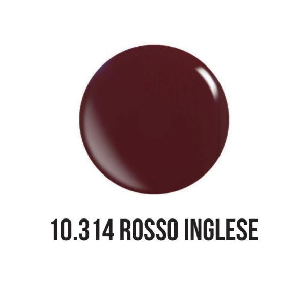 smalto gel semipermanente shellac Rosso Inglese