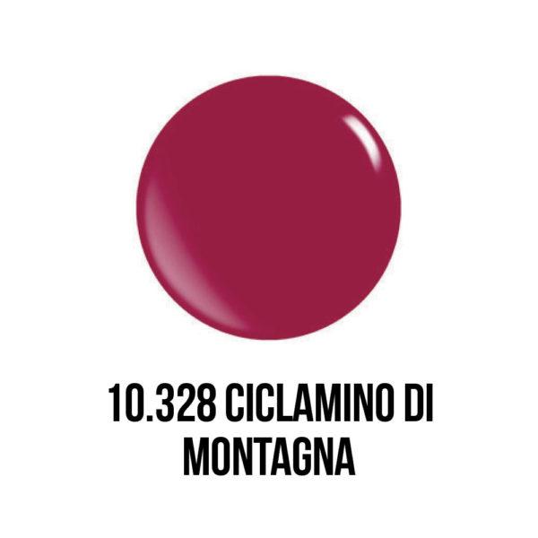 smalto gel semipermanente shellac Ciclamino di Montagna
