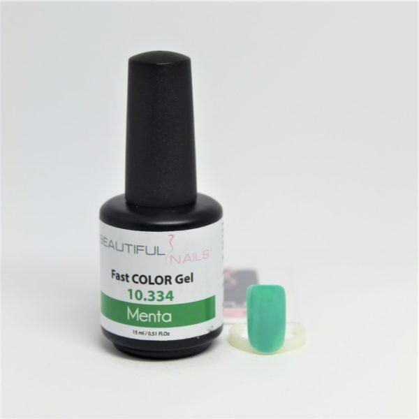 smalto gel semipermanente shellac Verde Menta