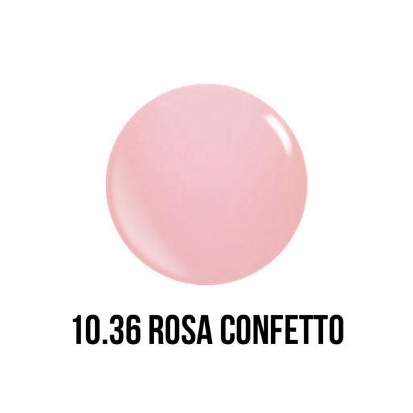 smalto gel semipermanente rosa confetto shellac