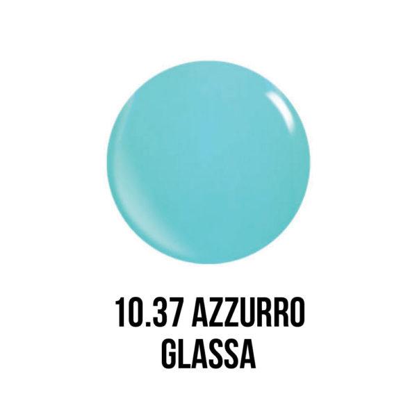 smalto semipermanente shellac gel Azzurro Glassa