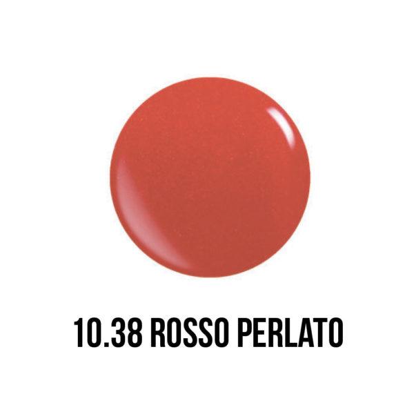 smalto semipermanente shellac gel rosso perlato