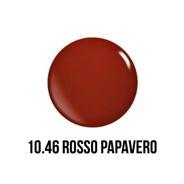 smalto gel semipermanente shellac Rosso Papavero