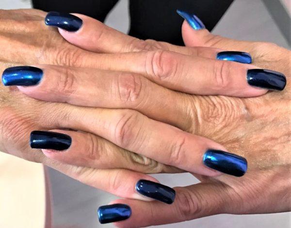 smalto gel semipermanente shellac Blu PinUp