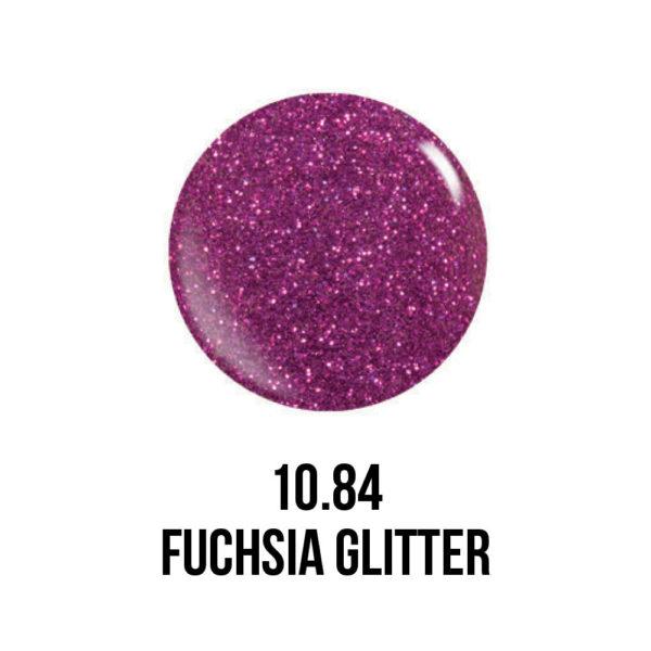 Smalto semipermanente Fucsia Glitter
