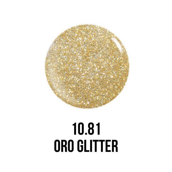 Smalto semipermanente Oro Glitter